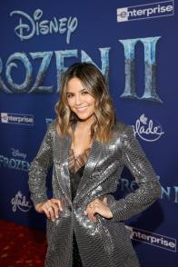 """HOLLYWOOD, CALIFORNIA - NOVEMBER 07: Erin Lim attends the world premiere of Disney's """"Frozen 2"""" at Hollywood's Dolby Theatre on Thursday, November 7, 2019 in Hollywood, California. (Photo by Jesse Grant/Getty Images for Disney)"""