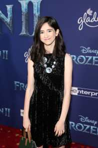 """HOLLYWOOD, CALIFORNIA - NOVEMBER 07: Maeve Press attends the world premiere of Disney's """"Frozen 2"""" at Hollywood's Dolby Theatre on Thursday, November 7, 2019 in Hollywood, California. (Photo by Jesse Grant/Getty Images for Disney)"""