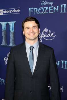"HOLLYWOOD, CALIFORNIA - NOVEMBER 07: Actor Jason Ritter attends the world premiere of Disney's ""Frozen 2"" at Hollywood's Dolby Theatre on Thursday, November 7, 2019 in Hollywood, California. (Photo by Jesse Grant/Getty Images for Disney)"