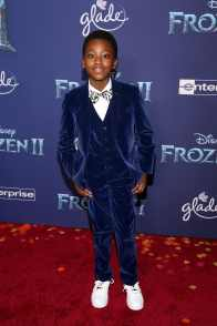 """HOLLYWOOD, CALIFORNIA - NOVEMBER 07: Ramon Reed attends the world premiere of Disney's """"Frozen 2"""" at Hollywood's Dolby Theatre on Thursday, November 7, 2019 in Hollywood, California. (Photo by Jesse Grant/Getty Images for Disney)"""