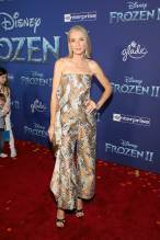 "HOLLYWOOD, CALIFORNIA - NOVEMBER 07: Ever Carradine attends the world premiere of Disney's ""Frozen 2"" at Hollywood's Dolby Theatre on Thursday, November 7, 2019 in Hollywood, California. (Photo by Jesse Grant/Getty Images for Disney)"