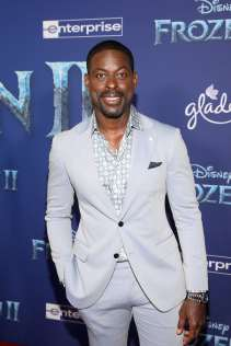 "HOLLYWOOD, CALIFORNIA - NOVEMBER 07: Actor Sterling K. Brown attends the world premiere of Disney's ""Frozen 2"" at Hollywood's Dolby Theatre on Thursday, November 7, 2019 in Hollywood, California. (Photo by Jesse Grant/Getty Images for Disney)"