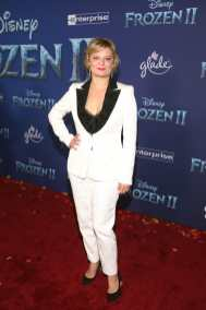 """HOLLYWOOD, CALIFORNIA - NOVEMBER 07: Actor Martha Plimpton attends the world premiere of Disney's """"Frozen 2"""" at Hollywood's Dolby Theatre on Thursday, November 7, 2019 in Hollywood, California. (Photo by Jesse Grant/Getty Images for Disney)"""