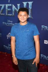 "HOLLYWOOD, CALIFORNIA - NOVEMBER 07: Benji Risley attends the world premiere of Disney's ""Frozen 2"" at Hollywood's Dolby Theatre on Thursday, November 7, 2019 in Hollywood, California. (Photo by Jesse Grant/Getty Images for Disney)"
