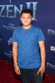 """HOLLYWOOD, CALIFORNIA - NOVEMBER 07: Benji Risley attends the world premiere of Disney's """"Frozen 2"""" at Hollywood's Dolby Theatre on Thursday, November 7, 2019 in Hollywood, California. (Photo by Jesse Grant/Getty Images for Disney)"""