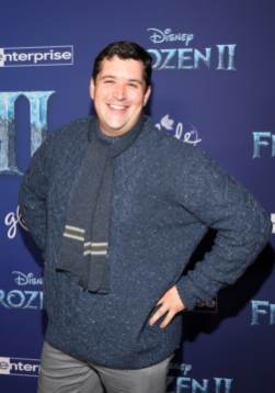 """HOLLYWOOD, CALIFORNIA - NOVEMBER 07: Brock Powell attends the world premiere of Disney's """"Frozen 2"""" at Hollywood's Dolby Theatre on Thursday, November 7, 2019 in Hollywood, California. (Photo by Jesse Grant/Getty Images for Disney)"""