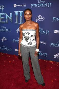 "HOLLYWOOD, CALIFORNIA - NOVEMBER 07: Adina Porter attends the world premiere of Disney's ""Frozen 2"" at Hollywood's Dolby Theatre on Thursday, November 7, 2019 in Hollywood, California. (Photo by Jesse Grant/Getty Images for Disney)"