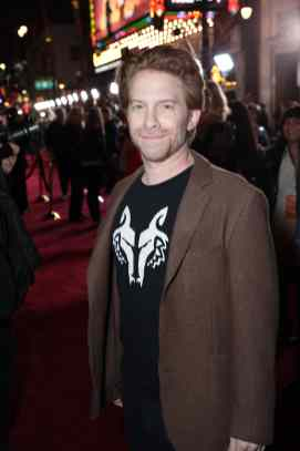 "Seth Green arrives at the premiere of Lucasfilm's first-ever, live-action series, ""The Mandalorian"", at the El Capitan Theatre in Hollywood, CA on November 13, 2019. ""The Mandalorian"" streams exclusively on Disney+.(photo: Alex J. Berliner/ABImages)"