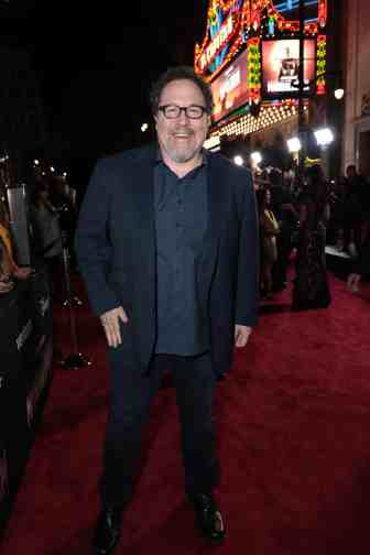 "Jon Favreau arrives at the premiere of Lucasfilm's first-ever, live-action series, ""The Mandalorian"", at the El Capitan Theatre in Hollywood, CA on November 13, 2019. ""The Mandalorian"" streams exclusively on Disney+.(photo: Alex J. Berliner/ABImages)"