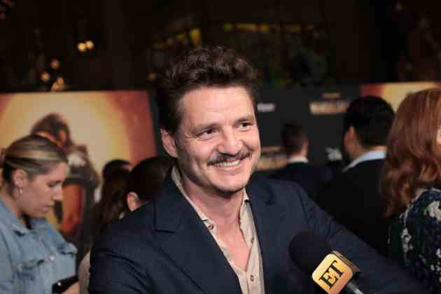 "Pedro Pascal arrives at the premiere of Lucasfilm's first-ever, live-action series, ""The Mandalorian"", at the El Capitan Theatre in Hollywood, CA on November 13, 2019. ""The Mandalorian"" streams exclusively on Disney+.(photo: Alex J. Berliner/ABImages)"