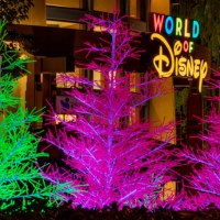 Downtown Disney District Introduces New 'Let it Glow' Trees to Light up the Shopping, Dining and Entertainment Experience