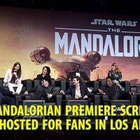 The Mandalorian Premiere Screening Event Hosted for Fans in Los Angeles