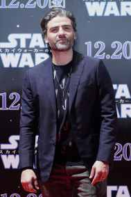 TOKYO, JAPAN - DECEMBER 11: Oscar Isaac attends the special fan event for 'Star Wars: The Rise of Skywalker' at Roppongi Hills on December 11, 2019 in Tokyo, Japan. (Photo by Christopher Jue/Getty Images for Disney)