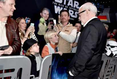 "HOLLYWOOD, CALIFORNIA - DECEMBER 16: Frank Oz arrives for the World Premiere of ""Star Wars: The Rise of Skywalker"", the highly anticipated conclusion of the Skywalker saga on December 16, 2019 in Hollywood, California. (Photo by Alberto E. Rodriguez/Getty Images for Disney)"