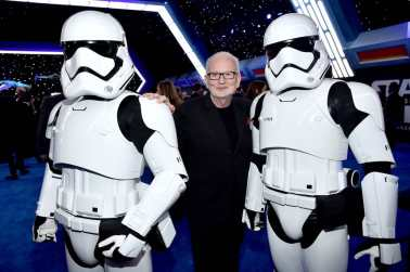 "HOLLYWOOD, CALIFORNIA - DECEMBER 16: Ian McDiarmid attends the World Premiere of ""Star Wars: The Rise of Skywalker"", the highly anticipated conclusion of the Skywalker saga on December 16, 2019 in Hollywood, California. (Photo by Alberto E. Rodriguez/Getty Images for Disney)"