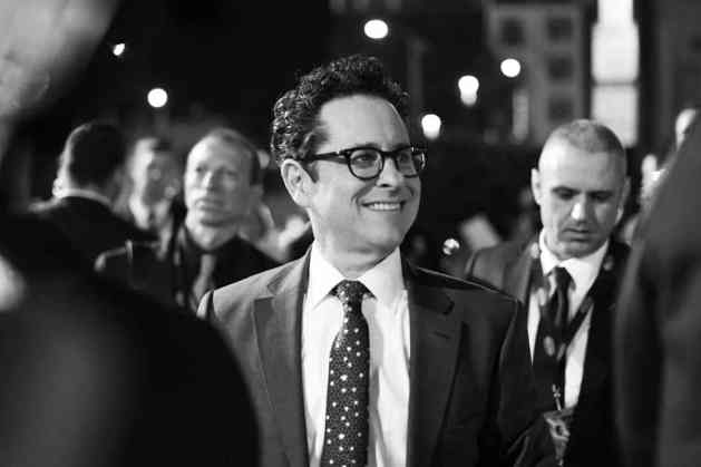 "HOLLYWOOD, CALIFORNIA - DECEMBER 16: (EDITORS NOTE: Image has been shot in black and white. Color version not available.) Director, Writer and Producer J.J. Abrams arrives for the World Premiere of ""Star Wars: The Rise of Skywalker"", the highly anticipated conclusion of the Skywalker saga on December 16, 2019 in Hollywood, California. (Photo by Charley Gallay/Getty Images for Disney)"