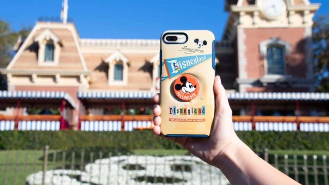 Disney Parks Annual Passholder PopSockets PopGrip Otterbox