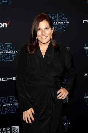 "HOLLYWOOD, CALIFORNIA - DECEMBER 16: Ann Russo arrives for the World Premiere of ""Star Wars: The Rise of Skywalker"", the highly anticipated conclusion of the Skywalker saga on December 16, 2019 in Hollywood, California. (Photo by Jesse Grant/Getty Images for Disney)"