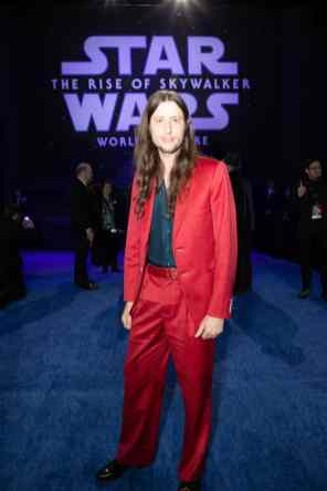 Ludwig Göransson arrives for the World Premiere of Star Wars: The Rise of Skywalker, the highly anticipated conclusion of the Skywalker saga, in Hollywood, CA, on December 16, 2019..(photo: Alex J. Berliner/ABImages)