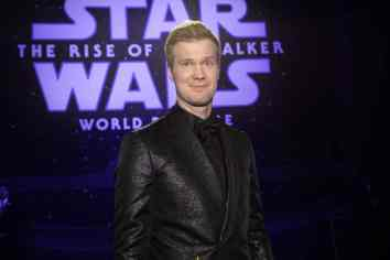 Joonas Suotamo arrives for the World Premiere of Star Wars: The Rise of Skywalker, the highly anticipated conclusion of the Skywalker saga, in Hollywood, CA, on December 16, 2019..(photo: Alex J. Berliner/ABImages)