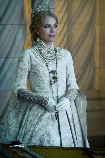Michelle Pfeiffer is Queen Ingrith in Disney's live-action MALEFICENT: MISTRESS OF EVIL
