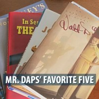 Mr. DAPs' Favorite Five - Disney Books - December 15, 2019