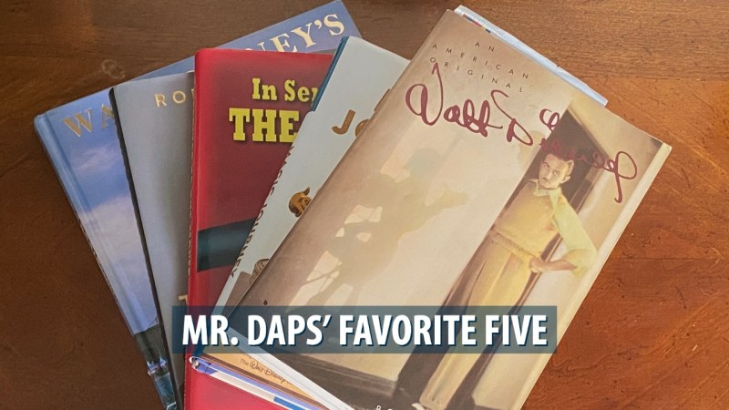 Mr. DAPs' Favorite Five - Disney Books