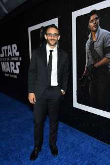 "HOLLYWOOD, CALIFORNIA - DECEMBER 16: Omid Abtahi arrives for the World Premiere of ""Star Wars: The Rise of Skywalker"", the highly anticipated conclusion of the Skywalker saga on December 16, 2019 in Hollywood, California. (Photo by Amy Sussman/Getty Images for Disney)"