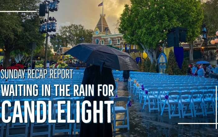 Waiting in the Rain for Candlelight