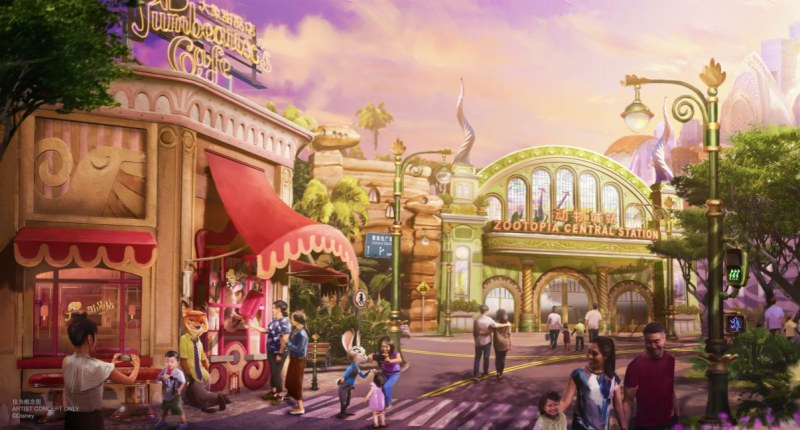 Zootopia Expansion Concept Art