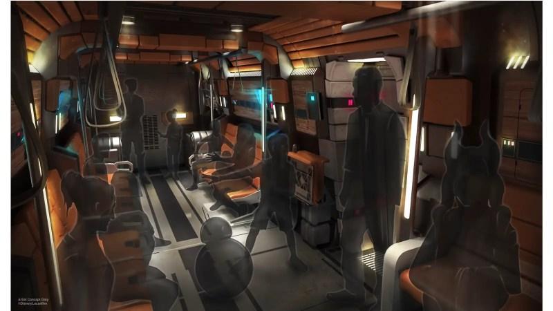 Star Wars: Galactic Starcruiser Transport