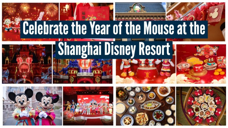 Celebrate the Year of the Mouse at the Shanghai Disney Resort