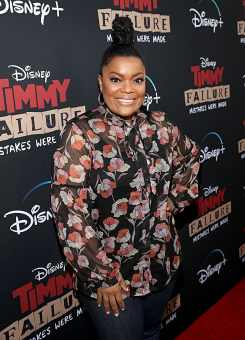 """HOLLYWOOD, CALIFORNIA - JANUARY 30: Yvette Nicole Brown attends the premiere of Disney's """"Timmy Failure: Mistakes Were Made"""" at Hollywood's El Capitan Theater on January 30, 2020. """"Timmy Failure: Mistakes Were Made"""" premieres on February 7, 2020, streaming only on Disney+. (Photo by Jesse Grant/Getty Images for Disney)"""