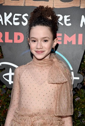 """HOLLYWOOD, CALIFORNIA - JANUARY 30: Chloe Coleman attends the premiere of Disney's """"Timmy Failure: Mistakes Were Made"""" at Hollywood's El Capitan Theater on January 30, 2020. """"Timmy Failure: Mistakes Were Made"""" premieres on February 7, 2020, streaming only on Disney+. (Photo by Alberto E. Rodriguez/Getty Images for Disney)"""