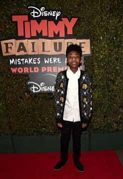 """HOLLYWOOD, CALIFORNIA - JANUARY 30: Christian J Simon attends the premiere of Disney's """"Timmy Failure: Mistakes Were Made"""" at Hollywood's El Capitan Theater on January 30, 2020. """"Timmy Failure: Mistakes Were Made"""" premieres on February 7, 2020, streaming only on Disney+. (Photo by Alberto E. Rodriguez/Getty Images for Disney)"""