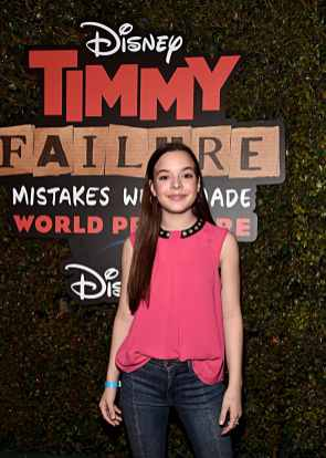 """HOLLYWOOD, CALIFORNIA - JANUARY 30: Amelia Wray attends the premiere of Disney's """"Timmy Failure: Mistakes Were Made"""" at Hollywood's El Capitan Theater on January 30, 2020. """"Timmy Failure: Mistakes Were Made"""" premieres on February 7, 2020, streaming only on Disney+. (Photo by Alberto E. Rodriguez/Getty Images for Disney)"""