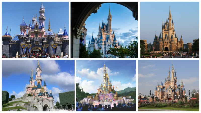 Disney Parks Castles