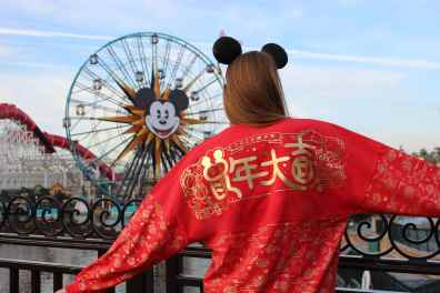 This Lunar New Year Spirit Jersey can be found at Disney California Adventure Park as Disneyland Resort celebrates the Year of the Mouse this Lunar New Year, Jan. 17 through Feb. 9, 2020. During the 24 days of this multicultural celebration, guests will enjoy exciting live entertainment and musical performances, plus inspired food and beverage items across festival marketplaces. (Disneyland Resort)