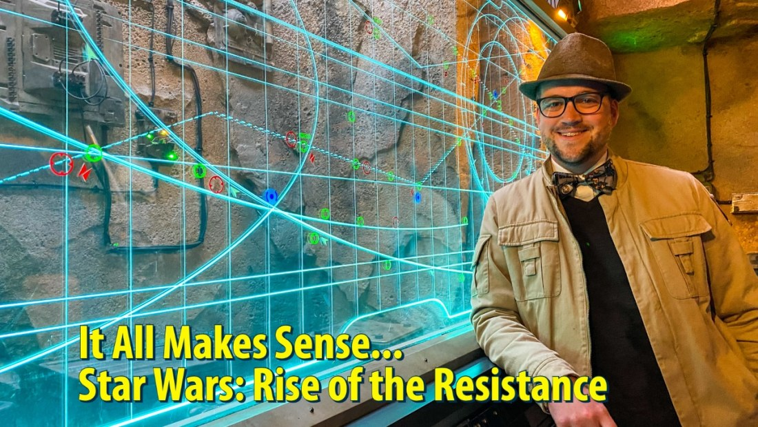 It All Makes Sense... Star Wars: Rise of the Resistance