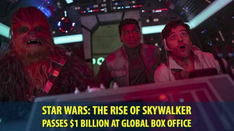 Star Wars: The Rise of Skywalker Passes $1 Billion at Global Box Office