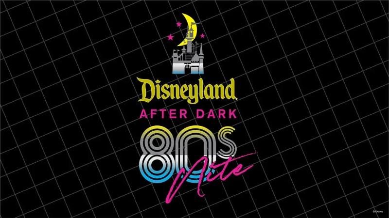 Disneyland After Dark: 80s Nite Logo