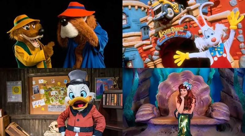 Disneyland After Dark: 80s Nite - Characters