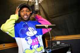"""Singer-songwriter Todrick Hall works on the music for the all-new """"Magic Happens"""" parade coming to life for guests at Disneyland, beginning Feb. 28, 2020. """"Magic Happens"""" will feature an energetic musical score and a new song, co-composed by Hall. Celebrating awe-inspiring moments of magic that are at the heart of so many Disney stories, this new daytime parade will feature stunning floats, beautiful costumes, and beloved Disney characters from Walt Disney Animation Studios' """"Frozen 2"""" and """"Moana,"""" plus """"Coco,"""" """"Sleeping Beauty"""" and more, all led by Mickey Mouse and his pals. (Richard Harbaugh/Disneyland Resort)"""