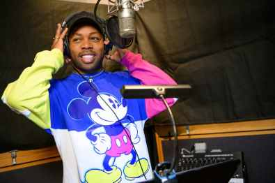 "Singer-songwriter Todrick Hall works on the music for the all-new ""Magic Happens"" parade coming to life for guests at Disneyland, beginning Feb. 28, 2020. ""Magic Happens"" will feature an energetic musical score and a new song, co-composed by Hall. Celebrating awe-inspiring moments of magic that are at the heart of so many Disney stories, this new daytime parade will feature stunning floats, beautiful costumes, and beloved Disney characters from Walt Disney Animation Studios' ""Frozen 2"" and ""Moana,"" plus ""Coco,"" ""Sleeping Beauty"" and more, all led by Mickey Mouse and his pals. (Richard Harbaugh/Disneyland Resort)"