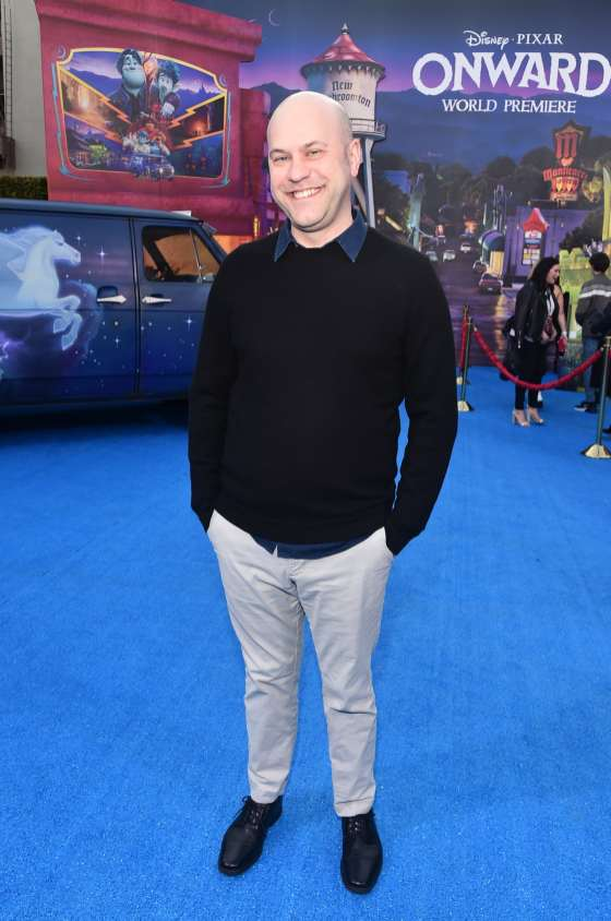 HOLLYWOOD, CALIFORNIA - FEBRUARY 18: Director/screenwriter Dan Scanlon attends the world premiere of Disney and Pixar's ONWARD at the El Capitan Theatre on February 18, 2020 in Hollywood, California. (Photo by Alberto E. Rodriguez/Getty Images for Disney)