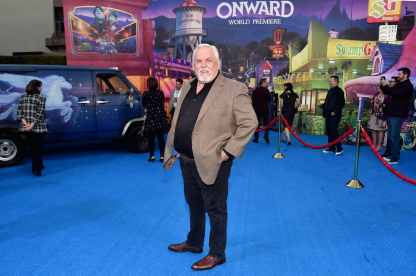 HOLLYWOOD, CALIFORNIA - FEBRUARY 18: John Ratzenberger attends the world premiere of Disney and Pixar's ONWARD at the El Capitan Theatre on February 18, 2020 in Hollywood, California. (Photo by Alberto E. Rodriguez/Getty Images for Disney)