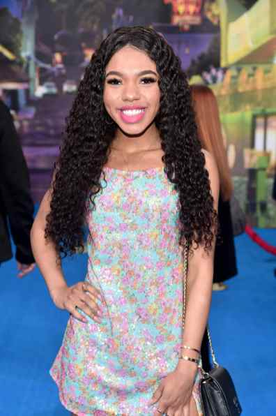 HOLLYWOOD, CALIFORNIA - FEBRUARY 18: Teala Dunn attends the world premiere of Disney and Pixar's ONWARD at the El Capitan Theatre on February 18, 2020 in Hollywood, California. (Photo by Alberto E. Rodriguez/Getty Images for Disney)