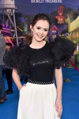HOLLYWOOD, CALIFORNIA - FEBRUARY 18: Olivia Sanabia attends the world premiere of Disney and Pixar's ONWARD at the El Capitan Theatre on February 18, 2020 in Hollywood, California. (Photo by Alberto E. Rodriguez/Getty Images for Disney)
