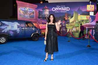 HOLLYWOOD, CALIFORNIA - FEBRUARY 18: Julia Louis-Dreyfus attends the world premiere of Disney and Pixar's ONWARD at the El Capitan Theatre on February 18, 2020 in Hollywood, California. (Photo by Alberto E. Rodriguez/Getty Images for Disney)