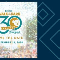September Date For 30th CHOC Walk in the Park Announced!
